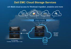 dell emc cloud storage services - multi cloud access